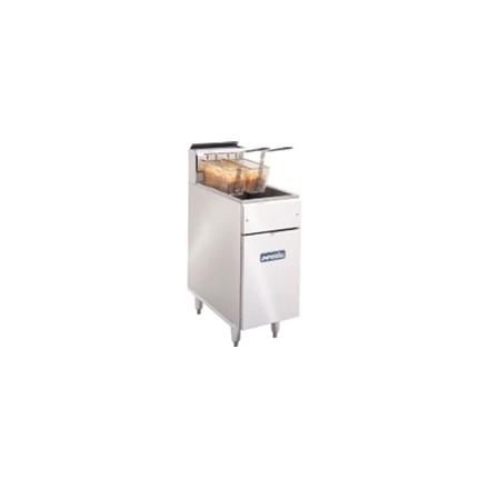 CB098-P Twin - Propane Slimline Gas Fryers
